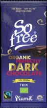 Plamil Organic Dairy Free Perfectly Dark Chocolate 80g